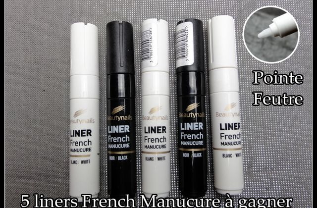 5 liners French Manucure à gagner ! Beauty Nails
