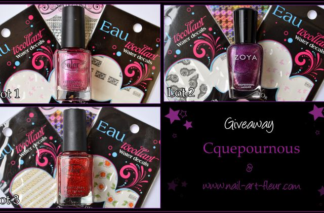 Giveaway Cquepournous Part 1