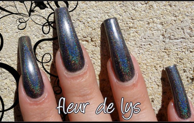 Glitter Gal 10 to midnight ( holographique )