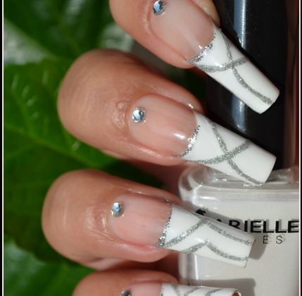Nail Art French Manucure Mariage