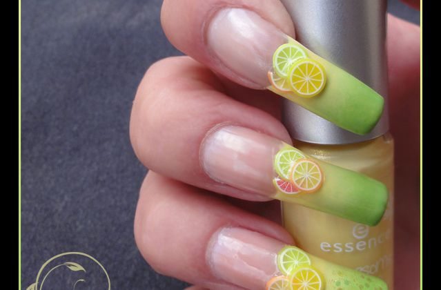 Nail Art : Fruits