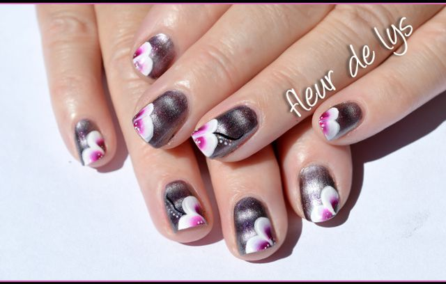 Nail Art One Stroke ( ongles courts )