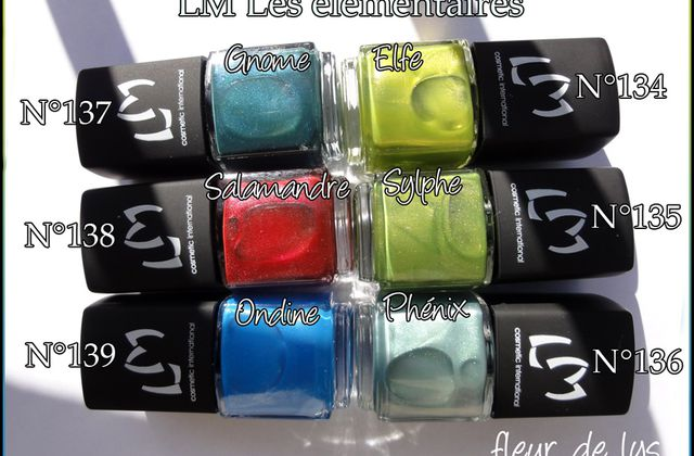 News LM Cosmetic + Vernis Hits no olimpo