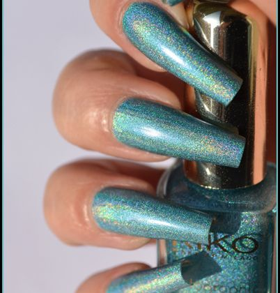 KIKO - Peacock Green (Holographic Collection)