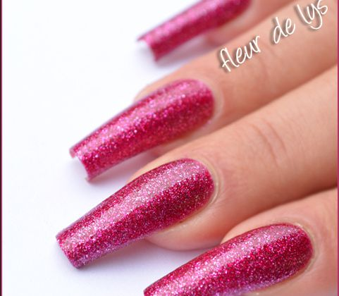 Kiko - Surreal Magenta N°406 (Glitter Collection)