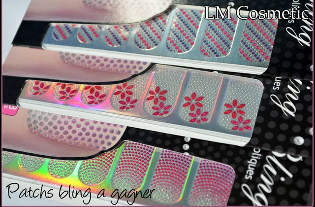 Gagnantes Patchs Bling LM Cosmetic