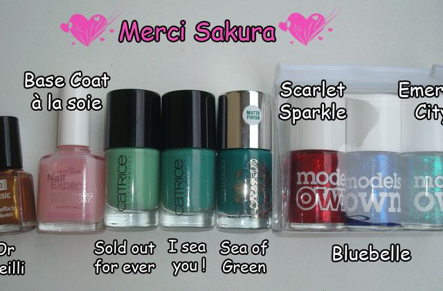 Vernis Catrice + Models Own !!!