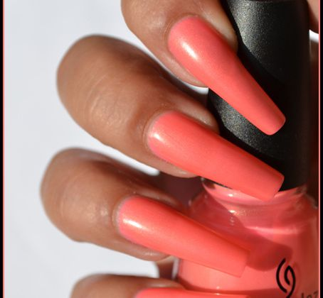 China Glaze Summer Neons Collection - Part 4