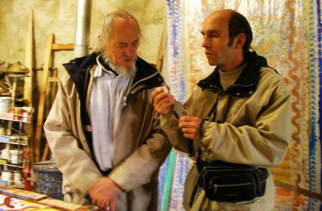 Un peintre aveugle ... Jean Michel Rezelman