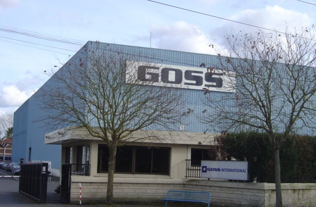 Goss international Montataire