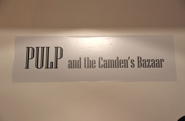 Pulp and the Camden's Bazaar