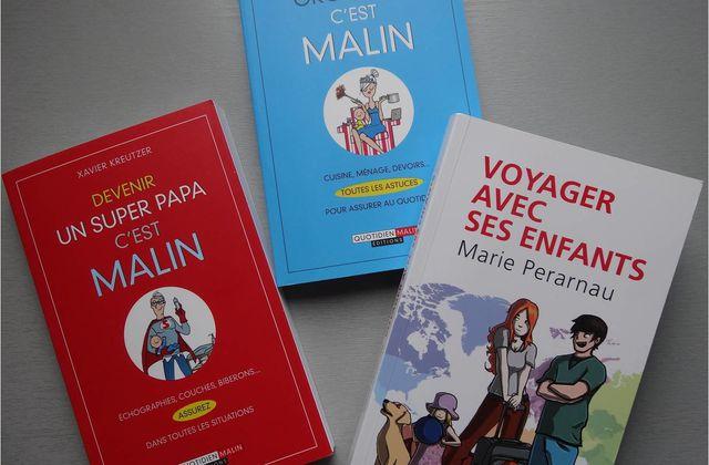 Grossesse, organisation, voyage en livres pratiques (et drôles) pour les parents
