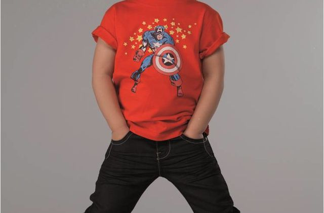 Super Héros Marvel en herbe chez Absorba [Samedi Mode]