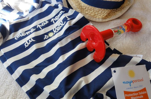 Sea, SAFE and sun ! Le maillot parasol ! [Samedi Mode]