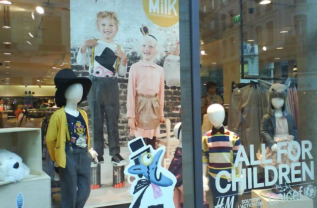 All for children : H&M s'engage pour l'Unicef [Samedi Mode]