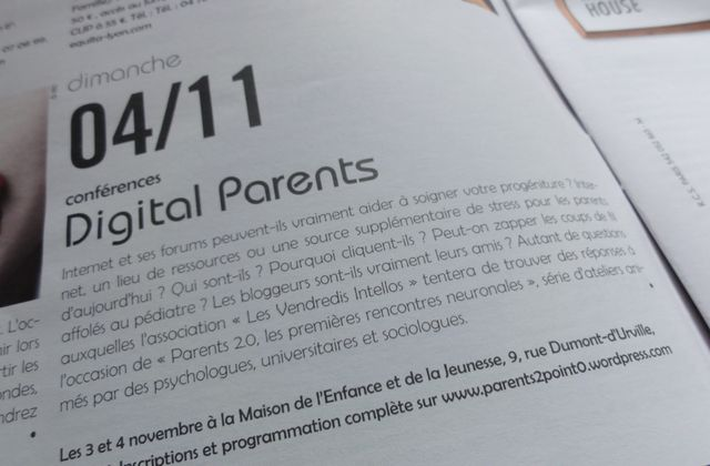 Digital Parents : la première rencontre des Parents 2.0