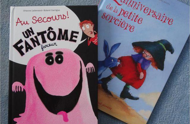 Fantôme et sorcière, lectures d'Halloween !