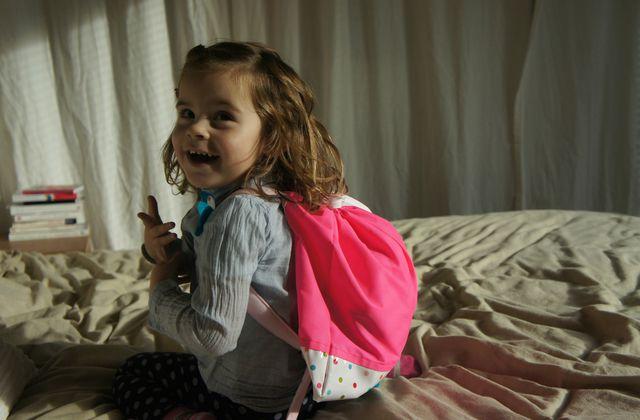 Le sac à dos d'Emma
