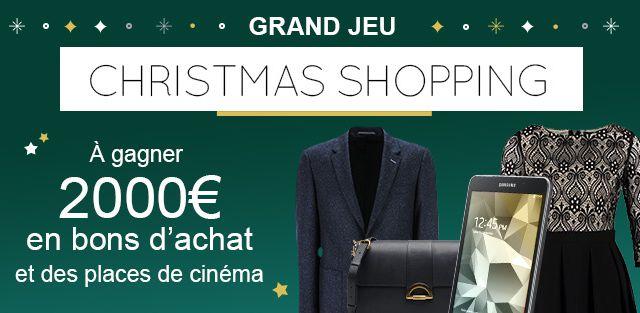 Grand Jeu Christmas Shopping