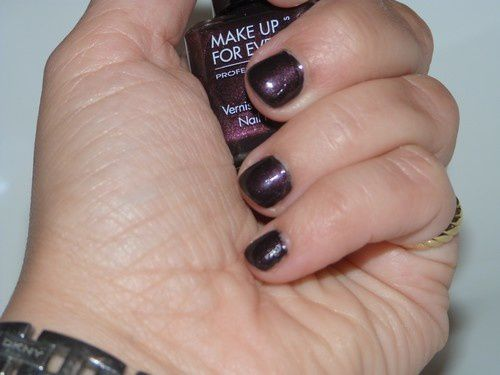 Vernis BlackTango Noir-Rouge MAKE UP FOR EVER