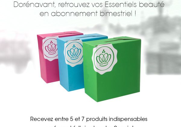 Une nouvelle Glossy Box ?