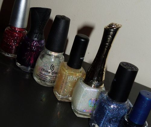Défi du Lundi : Nails glitter