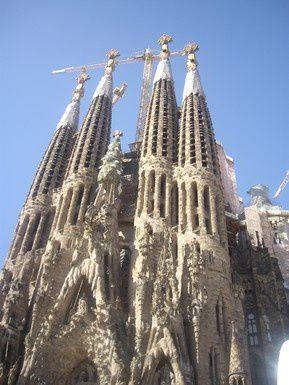 Barcelone - La Sagrada Familia