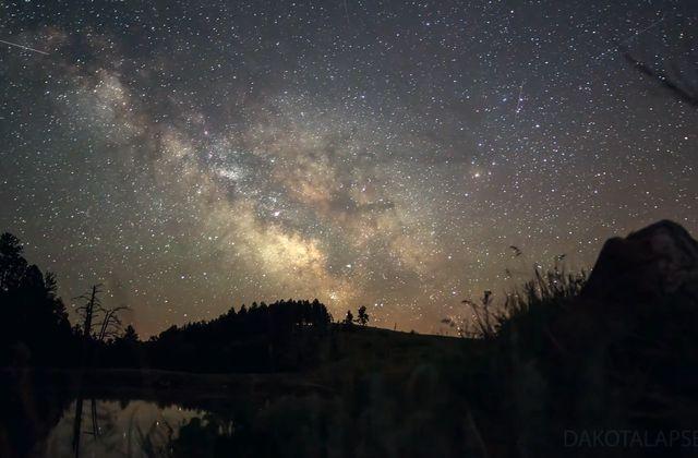 Le ciel du Dakota...Le temps accéléré pour visualiser l'espace!