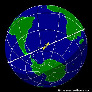 Friday, September 23, 2011 : Position UARS live ... a link to view the trip! Current status of UARS