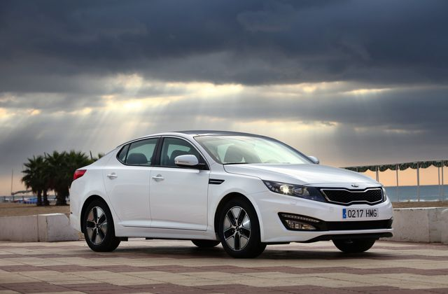 Rendement optimisé pour la nouvelle Kia Optima Hybrid