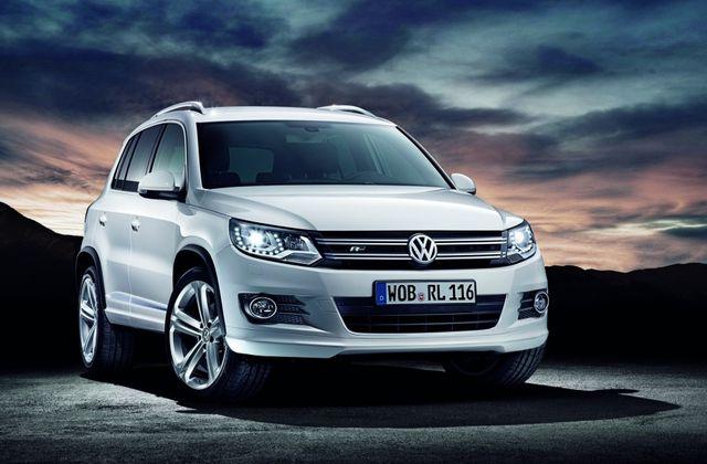 """Nouveau Volkswagen Tiguan """"pack R-line"""""""