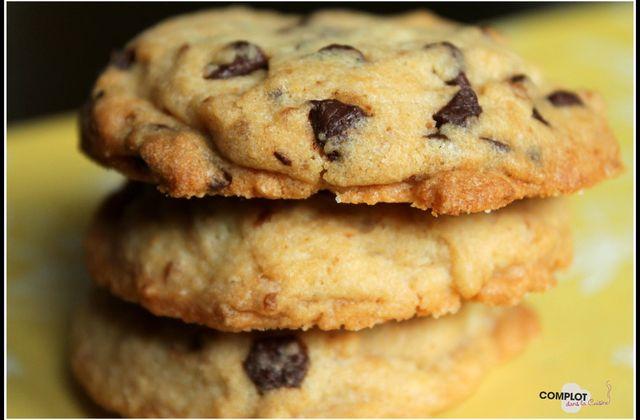 Cookies Spéculoos crunchy – pepites de chocolat