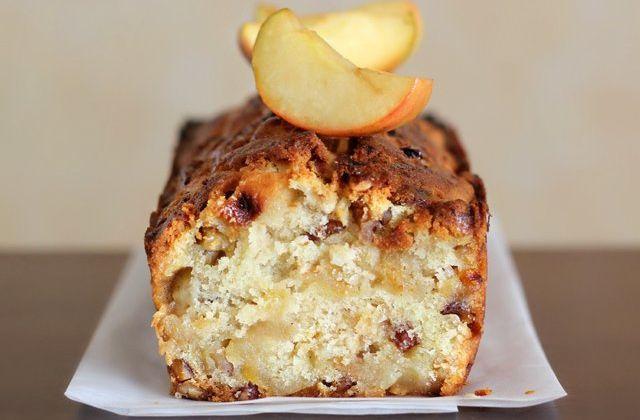 Cake automnal pomme et noix