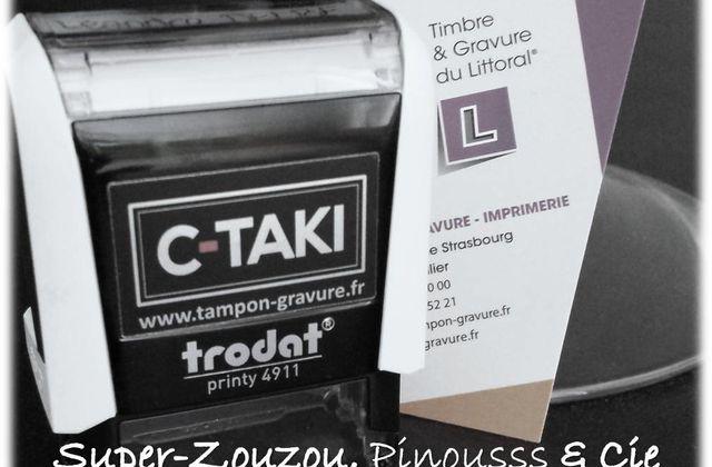 J'ai testé… le tampon pour vêtement C-TAKI…