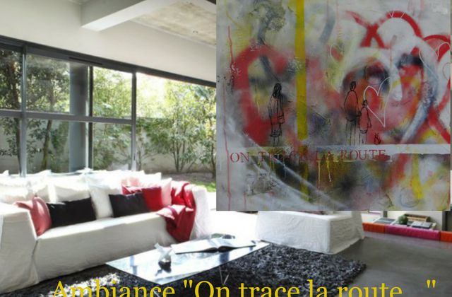 "Ambiance ""On trace la route"""