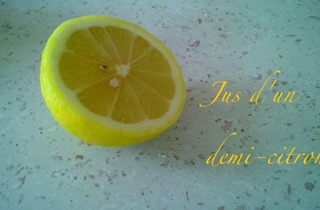 [Cuisine] Tisane thym-citron-miel.