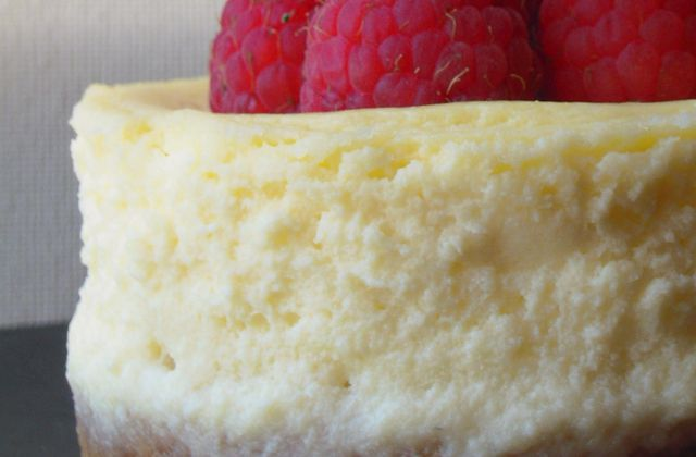 Cheesecake citron et framboise