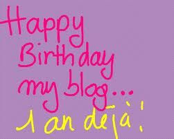 Happy birthday my blog !!! super concours =))