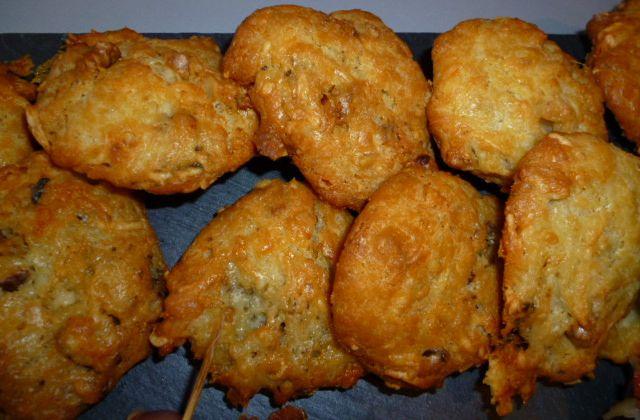 Cookies Roquefort noix et noisettes !!!