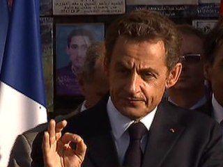 """Sarkozy """"Vive la Libye, vive Benghazi"""""""