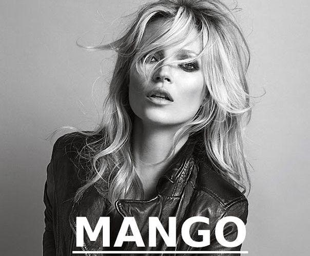 Kate Moss, toujours égérie pour Mango