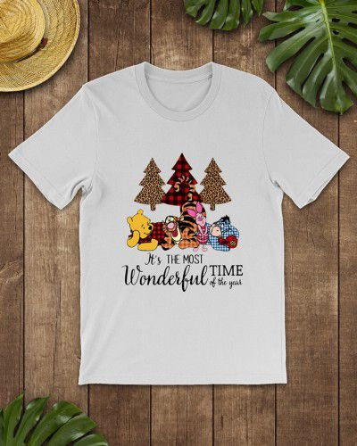 5e6e0af6c Pooh and friends it's the most wonderful time of year shirt