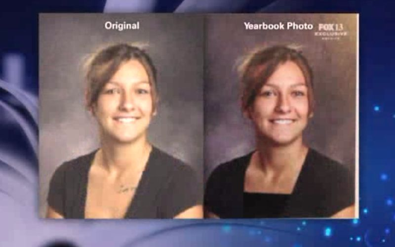 Utah High School Photoshopped Students to Make Yearbooks Less Sexy