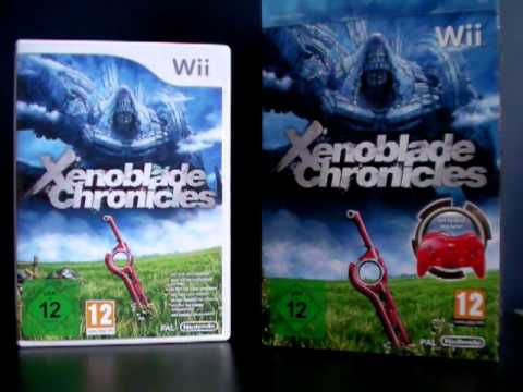 Unboxing Xenoblade Chronicles + Classic Controller Pro (Euro Version)