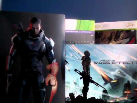 Unboxing : Mass Effect 3 Collector N7 Edition (EURO version)