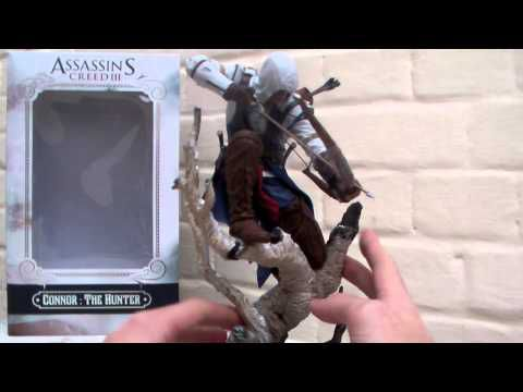 Unboxing : Assassin's Creed 3 - Statuette Connor The Hunter