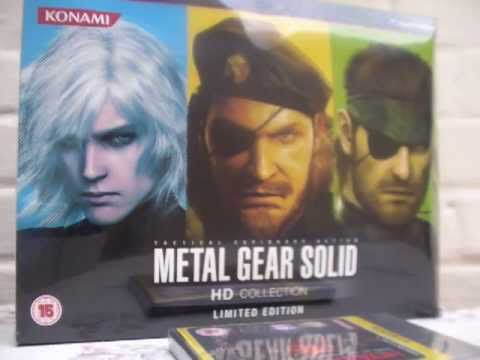 Unboxing : Metal Gear Solid HD Collection Limited Edition (UK Version)
