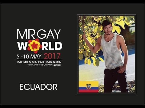 Mr Gay World 2017 Delegate - Ecuador