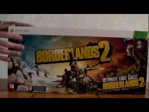 Unboxing : Borderlands 2 Limited Edition Coffre à Trésor (EURO Version)