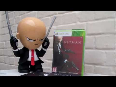 Unboxing : Hitman Absolution DELUXE Professional Edition (EURO Version)
